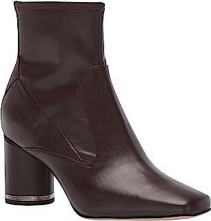 Franco Sarto Women's Pisabooty Ankle Boot, Dark Brown, 7.5