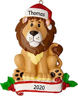 Best Personalized Lion Zoo Animals Christmas Tree Ornament 2020 - Cute Brown Forest Collection Adventure Toy Costume King Guard Brave Simba Kion Jungle Cub Broadway Gift Year - Free Customization Review