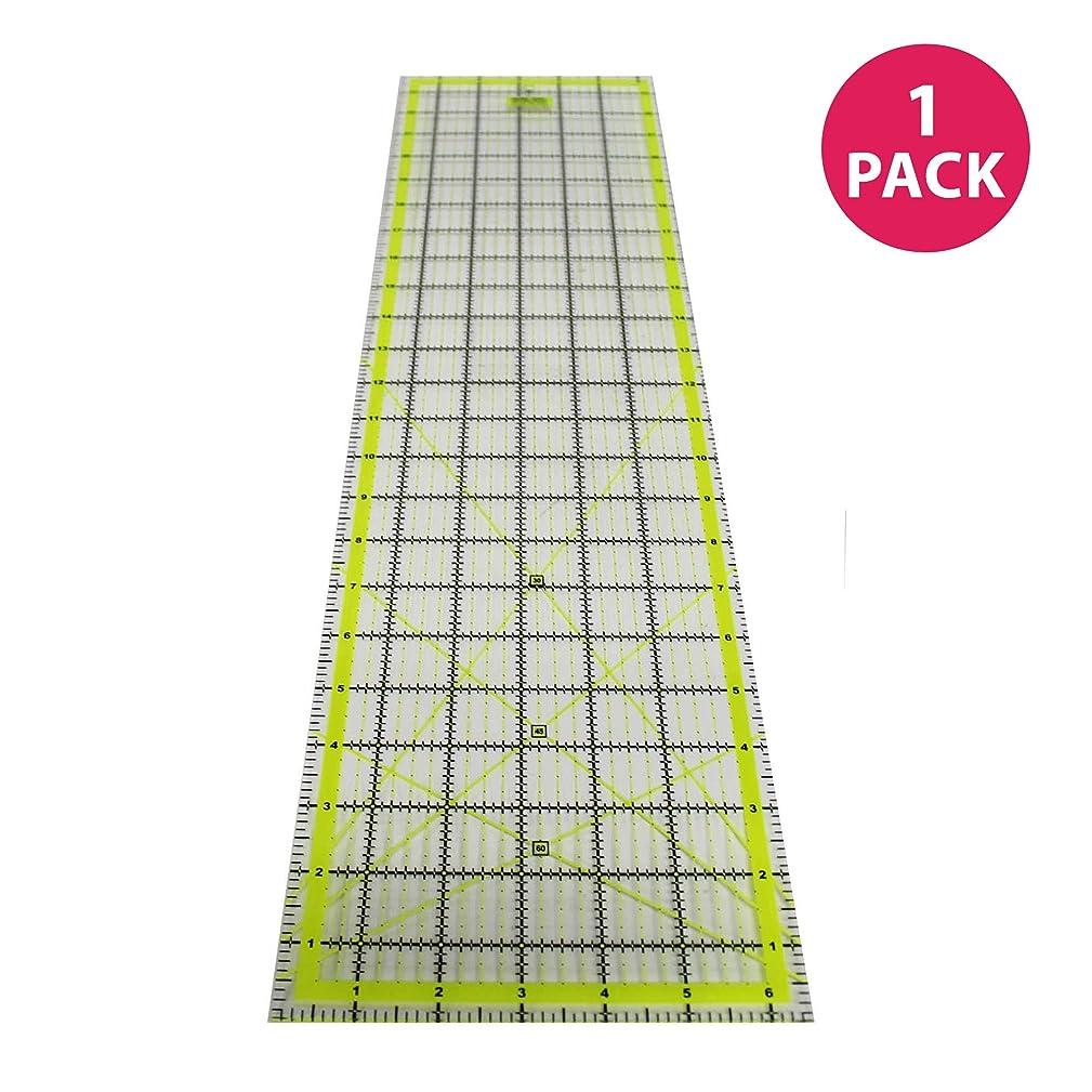 Think Crucial Durable 6x24 Inch Acrylic Cutting Ruler
