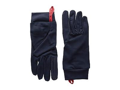 Hestra Touch Point Dry Wool Five Finger (Navy) Ski Gloves