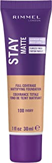 Rimmel London Stay Matte Liquid Mousse Foundation - Ivory
