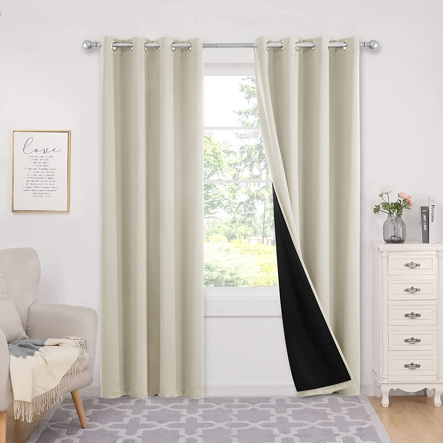 Deconovo Grommets 100% Spasm price Blackout Ranking TOP8 Curtain Long Thermal Ins Length