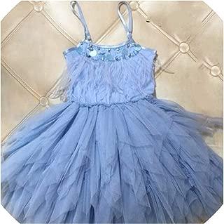 Surprise S Kids Dresses for Girls Elegant Feather Tassels Girls Wedding Party Princess Dresses Clothing