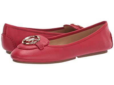 MICHAEL Michael Kors Lillie Moc (Bright Red) Women