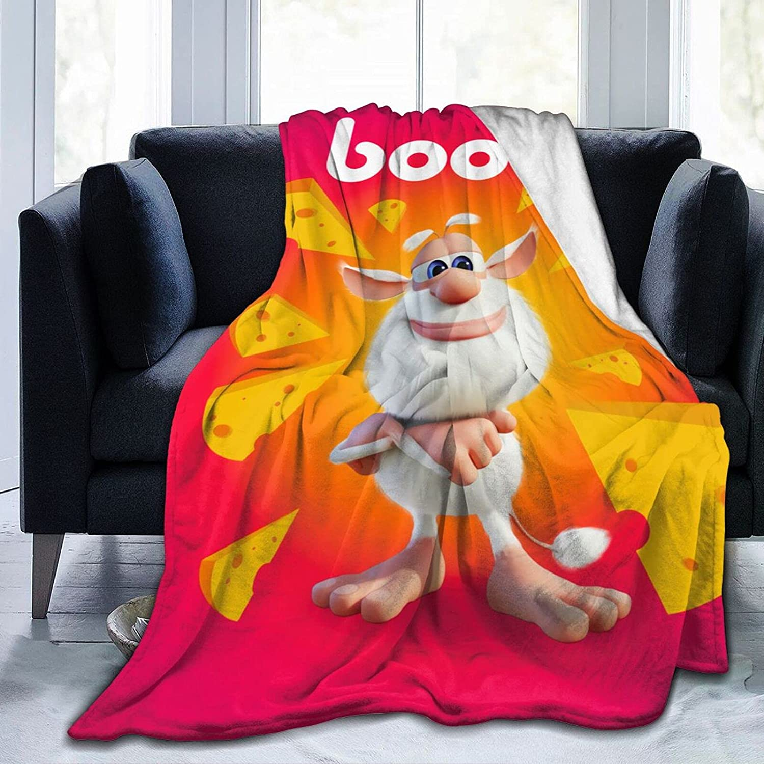 Nedrodapphire Booba Ultra Japan Maker New Soft and Flannel Fluffy Max 47% OFF Blanket Throw