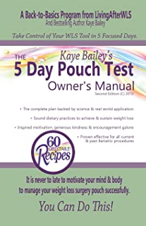 5 day pouch reset for gastric sleeve
