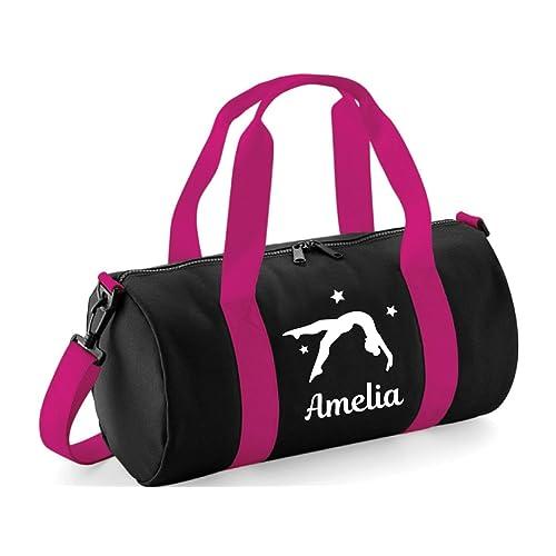 15d7fdeee4 beyondsome Personalised Womens Girls Gymnastics Flip Gym Bag