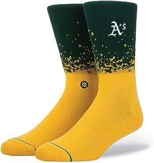 Stance Men's Athletics Fade Socks Green L