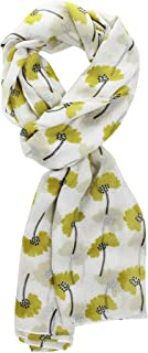 Scarf for Women, Lady Fashion Scarves Flowers Print Pattern Accessories Shawl Wrap