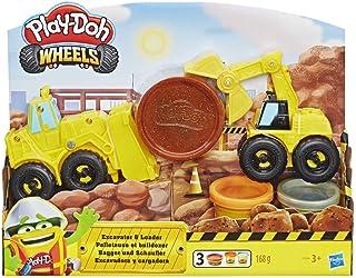 Play-Doh Excavadora Y Cargadora (Hasbro E4294EU4)