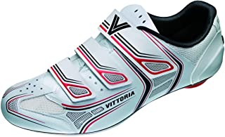 Vittoria Twister Kid's Road Cycling Shoes - White/Red