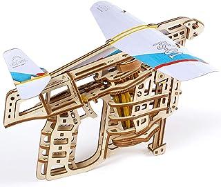 UGEARS Model Flight Starter 3D Wooden Puzzle, Camel Brown, Ugr-70075, 198 Parts