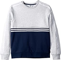 Collegiate Navy/Light Heather Grey