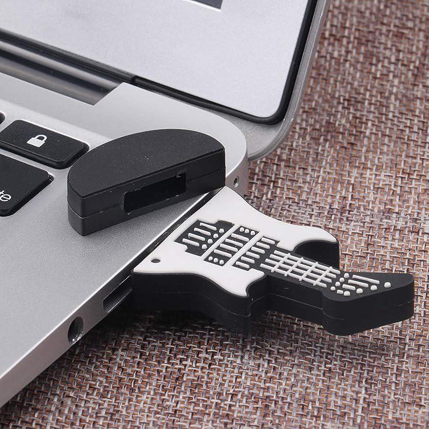 dezirZJjx 4GB 8GB 16GB 32GB 64GB Black White Guitar USB Memory Pen Flash Drive U Disk Gift 64G sfitkprjt