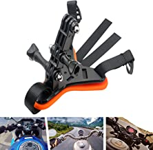 Fixing Bracket Bicycle Motorcycle Helmet Chin Mount Strap Holder Integrated Helmet Belt for Osmo Action Camera for GoPro Hero 8/7/6/5/4/3