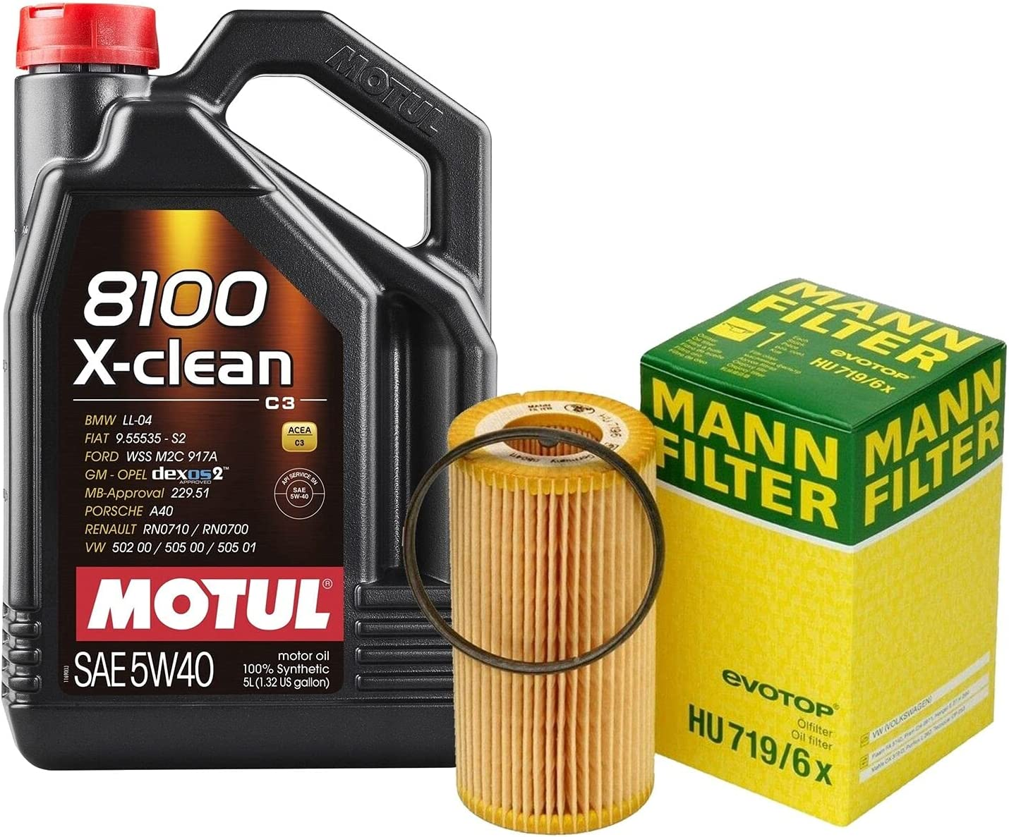 5L 8100 X-CLEAN 5W-40 Filter List price Motor Oil B7 A4 kit Change Turb All stores are sold 2.0