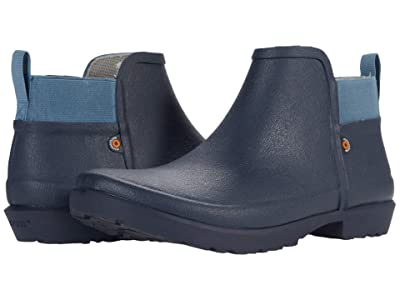 Bogs Flora Bootie II (Blue Denim) Women