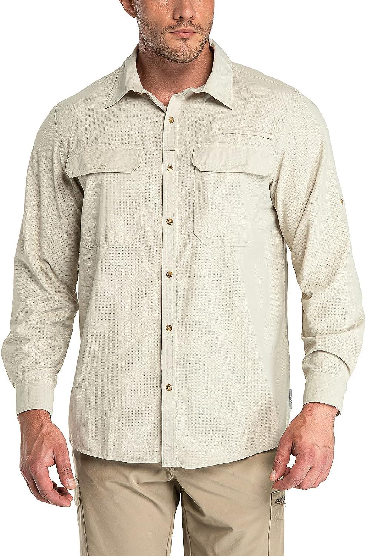 33 000ft Men's Long Sleeve Sun 50+ 2021 Shirt Protection UPF UV Quick Boston Mall