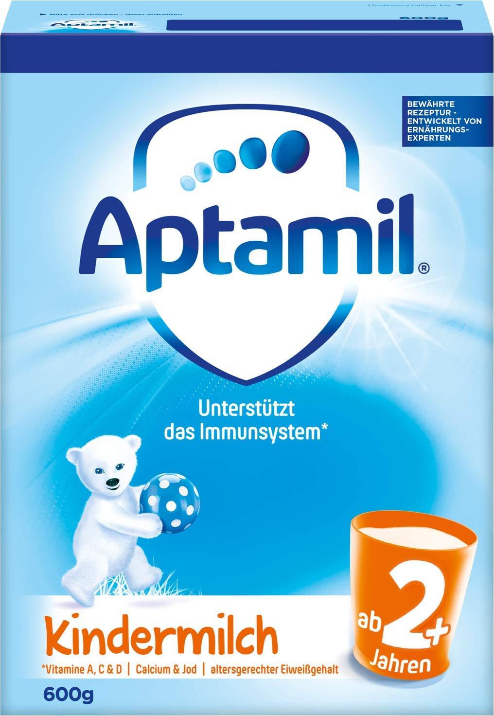 Aptamilは、彼の美容幼児用調合乳2+セグメント(該当する年齢:2歳以上)5箱(5 x 600 g)(包装交換)を愛している