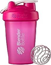 Blender Bottle Classic Loop Top Shaker Bottle, 20-Ounce, Pink/Pink