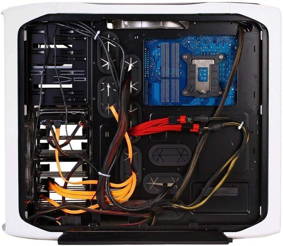 Coreden 4 Inches Heavy Duty Mini Zip Ties Self Locking Cable Ties 500 Pcs, Black