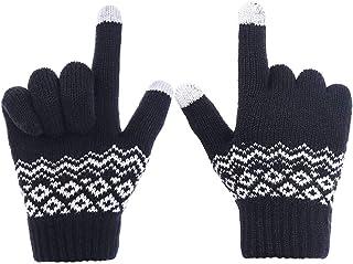 Guanti da donna RJM per touch screen a maglia
