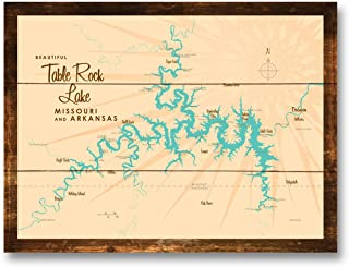 Best table rock lake map Reviews