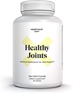 Supplement Spot Joint and Knee Supplements – Joint Health Supplement w/Glucosamine and Chondroitin for Supp...