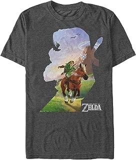 Nintendo Men's Legend of Zelda Link Silhouette T-Shirt