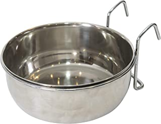 Superior Pet Goods Stainless Steel Coop Cup,