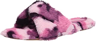 Nine West Women's Cozy Slipper, pink multi697, 6.5