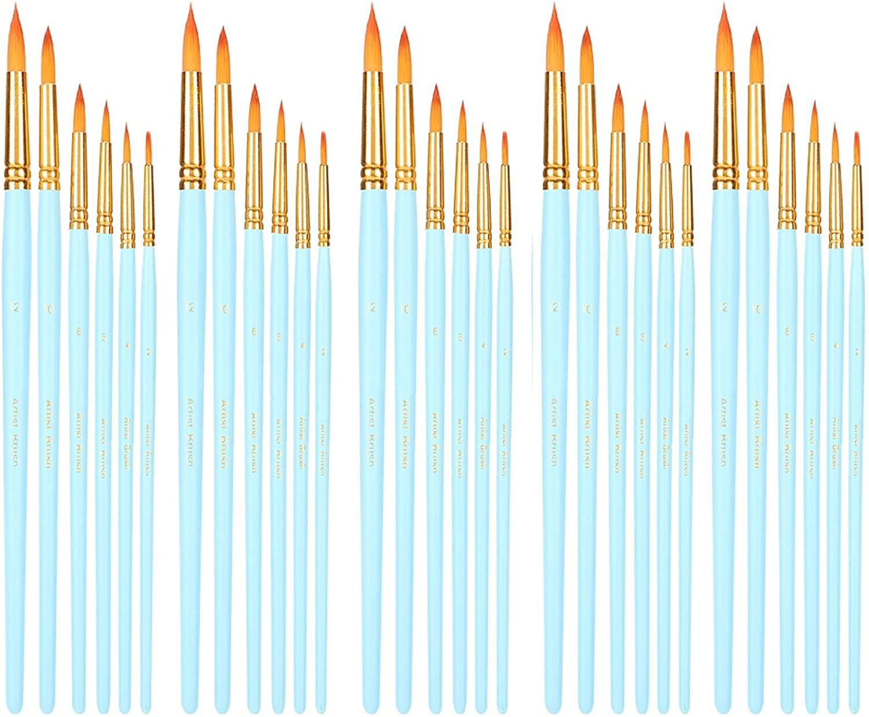 30PCs Paintbrush SALENEW very popular Raleigh Mall Brush Set Artist Brushes Paint for Watercol