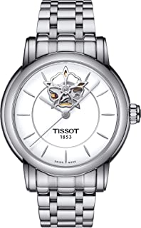 Lady Heart Automatic White Dial Stainless Steel Ladies Watch T0502071101104