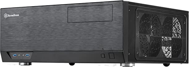 SilverStone Technology Home Theater Computer Case (HTPC) with Faux Aluminum Design for ATX/Micro-ATX Motherboards (SST-GD09B-USA)