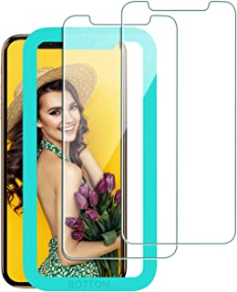 Bovon for iPhone 11 Pro Max Screen Protector 2019 6.5'', for iPhone XS Max Screen Protector [Ultra Clear] [3D Touch] [Case-Friendly][Scratch Proof] 0.25mm Tempered Glass Film with Alignment Frame (2 Packs)