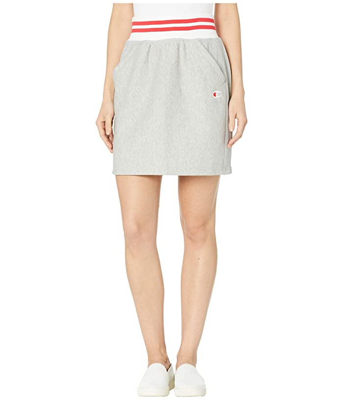 Champion LIFE Yarn-Dye Skirt (Oxford Gray) Women