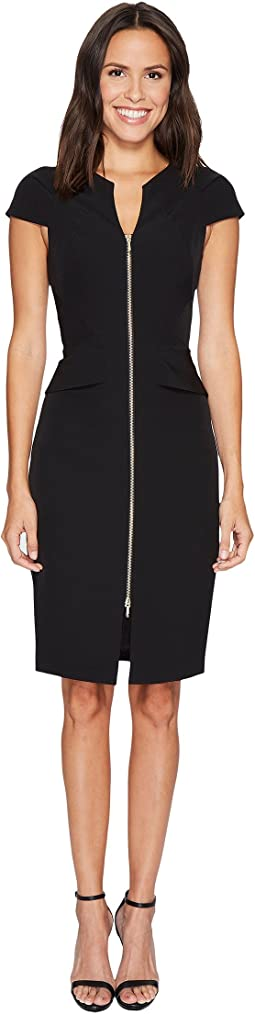 Ted Baker - Fearnid Architectural Pencil Dress