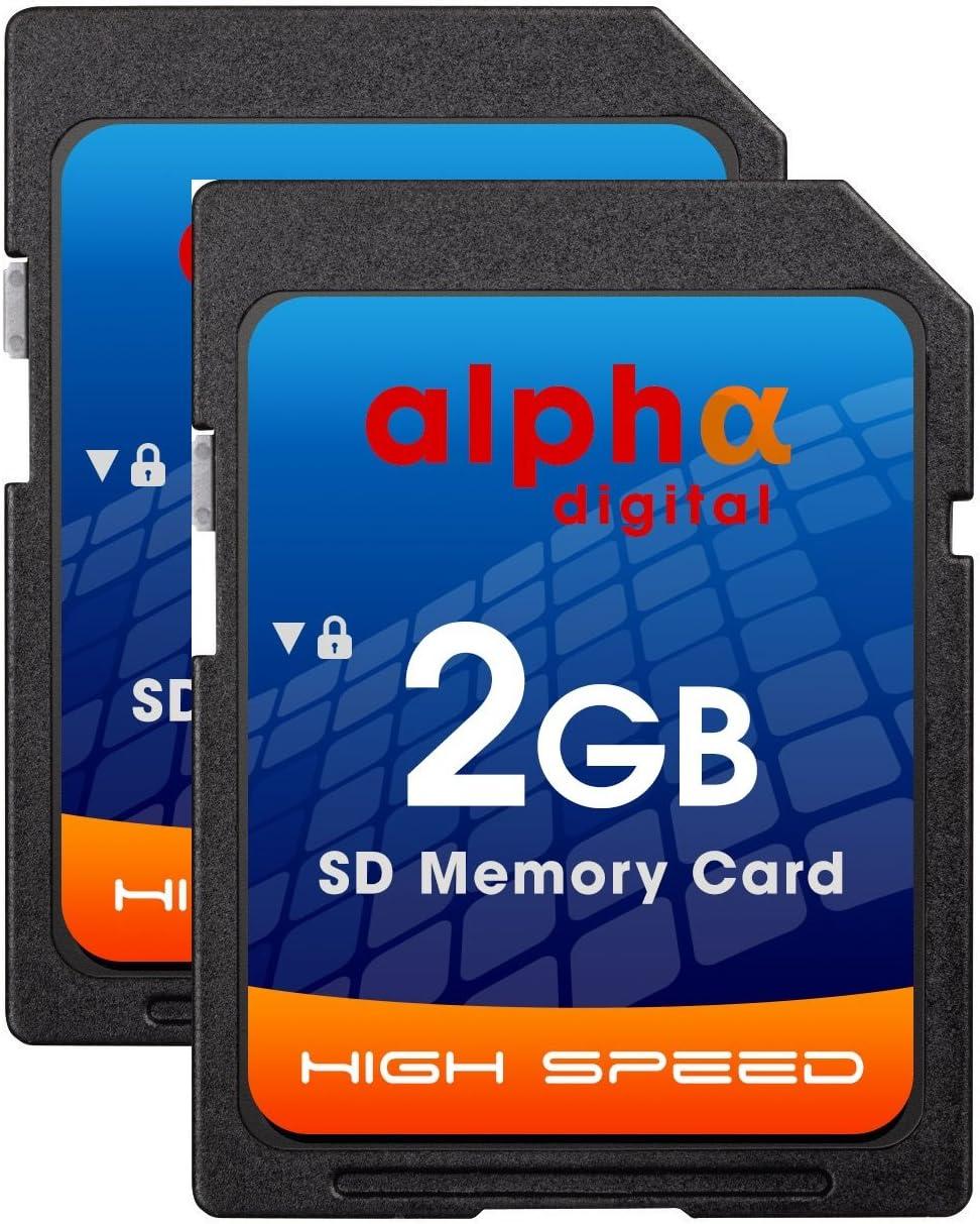 Canon EOS Rebel T7i T7 T6i T6S T6 T5i T5 T4i T3i T3 T2i T2 T1 XS SL1 SL2 Digital Camera Memory Card 2X 2GB Secure Digital (SD) Memory Card [1 Twin Pack]