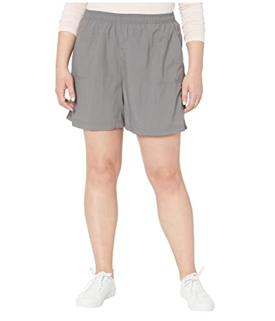 Columbia Plus Size Sandy Rivertm Short (City Grey) Women