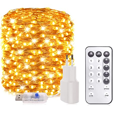 Partydeko Weihnachten farbenfroh Kaliwa LED Lichterkette mit Sternen Batteriebetriebe Weihnachtslichter IP44 Wasserdicht ideal f/ür Kinderraum Innenr/äume 2 Modi