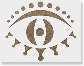 Zuul Evil Eye Stencil - Reusable Stencils for Painting - Create DIY Zuul Evil Eye Home Decor