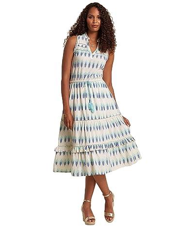 Hatley Caleigh Midi Dress Arrowhead Ikat