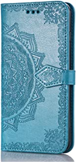 Felfy Kompatibel mit H/ülle  Kindle 8.Generation 2016 Case PU Flip Ledertasche Luxe Bookstyle Flip Standfunktion Magnetverschluss Ledertasche Muster Tasche Etui Flip Cover,EINWEG Verpackung