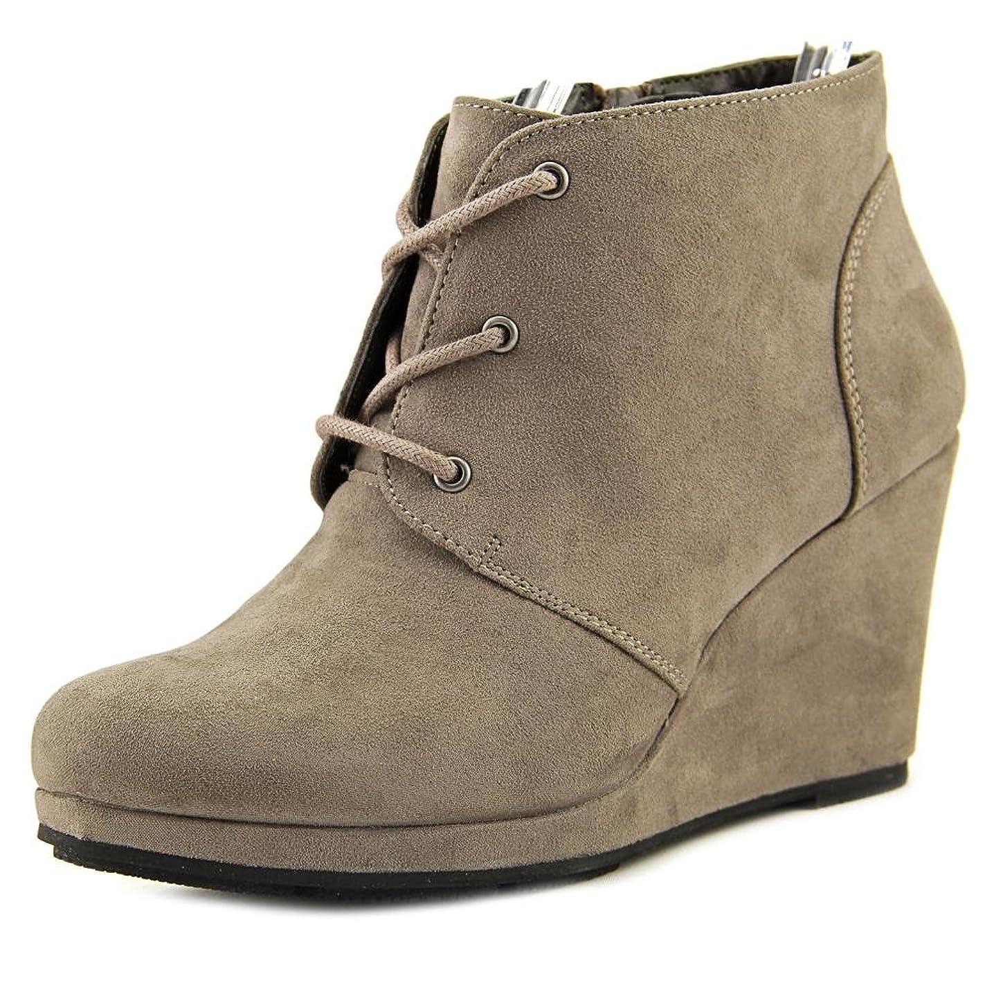 クリスマス予算パイルStyle & Co. Womens Alaisi Closed Toe Fashion Boots, Grey, Size 6