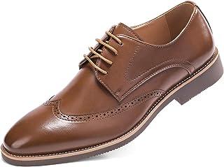 Vêtements, accessoires Homme Cuir Synthétique Casual Formel Bureau Smart Travail Lacets Oxford Richelieu à Chaussures