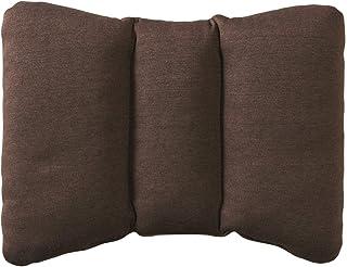 Muji Urethane Polyester Flakes Backrest Cushion, 43 x 31cm, Brown