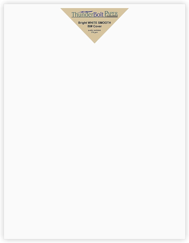 50 50 50 Helle Weiße Glatte 80   Karte Papier Blatt – 21,6 x 27,9 cm (21,6 x 27,9 cm) Standard letter flyer Größe Bezug – 80 Lb Pfund Gewicht – Qualität Papier – Konsistenz in Print – glatte Finish B01AW1HGKI  0829d5
