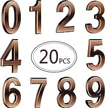 self adhesive mailbox numbers