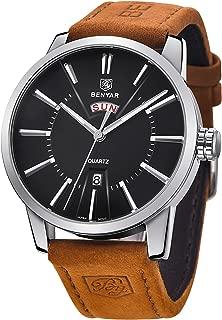 Benyar Brown Leather Analog Chronograph Wristwatch Prime Sale Day