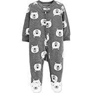 Baby Boys' 1 Piece Cotton Footed Sleepers